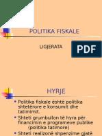 Politika Fiskale