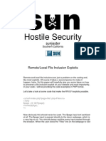 Hostile Security
