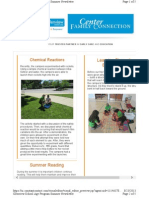 OHU Glenview CDC August 2013 Newsletter