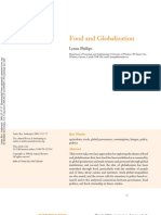 Food and Globalization. Phillips 2006