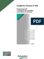 CUADERNO TECNICO_204_Protecciones BT y Variadores de Velocidad