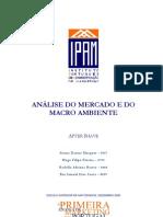IPAM - Analise Mercado | Marcro Ambiente de After Shave