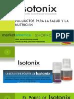 Nutraceuticos y suplementos vitaminicos Isotonix