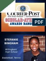 Courier-Post Scholar-Athlete awards banquet presentation