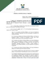 CE-RN Emenda 2 - 2012 - Militares