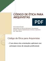 Código de Ética Arquivista