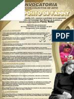 CONVOCATORIA EXPOSICIÓN COLECTIVA DE ARTE A PROPÓSITO DE FANNY