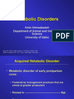 Metabolic Disorders Note