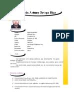 Plantilla Curriculum Creativo Marvin Arturo