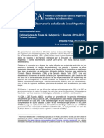 Indigencia y Pobreza 2010-2012 Informe Final 04 2013
