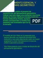 PENSAMIENTO ESPACIAL Y SISTEMAS GEOMÉTRICO