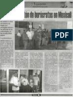 Indefinido Planton de Burocratas en Mexicali