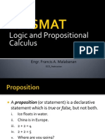 Logic and Proposition