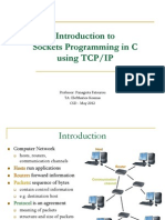 TCP/IP Sockets in C