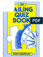 The Sailing Quiz Book by Tony Crowley
