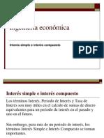 PRESENTACIÓN IE 5 Interes Simple y Compuesto