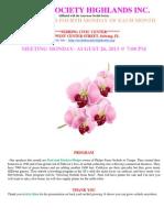 Aug 2013 Newsletter (1)
