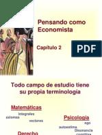 Principios de Economía, Mankiw Capítulo 2; Pensando como Economista