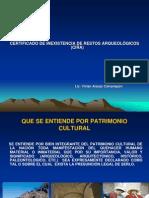 05 03 01 Certificado de Inexistencia de Restos