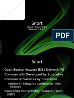SNORT Cheat Sheet | Transmission Control Protocol | Internet