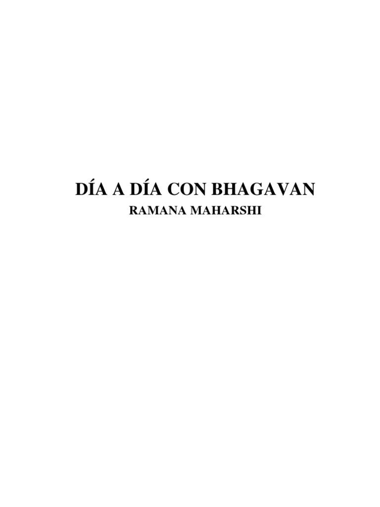 Ramana Maharshi - Día a día con Bhagavan