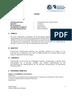 Sílabo - Curso de Implementación de NIIF