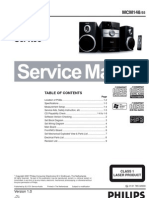 Equipo Philips MCM148_55 Service Manual