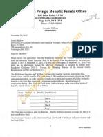 Bricklayers Insurance & Welfare Fund - Redacted HW