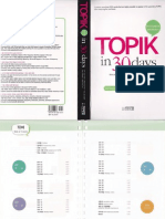 TOPIK in 30 Days (Intermediate Vocabulary)