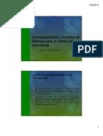 Conceptualizacion y Creacion de Rubricas Para El Avaluo Del Aprendizaje