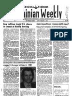 The Ukrainian Weekly 1982-07