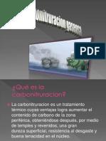 carbonitruracion gaseosa