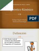 Diagnóstico Kinésico