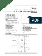 Tda 7379 Data Sheet