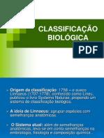 01 - Sistematica e Taxonomia