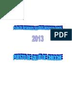 Plan de Residuo Solido Chacapampa 2013