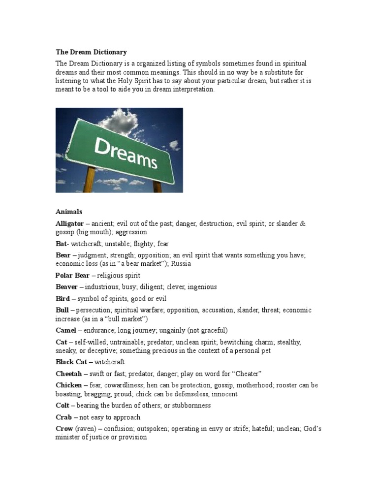 The Dream Dictionary Last Judgment Jesus
