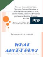 Program Proposal