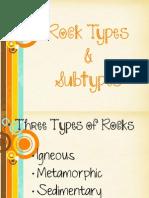 rocks notes 2012
