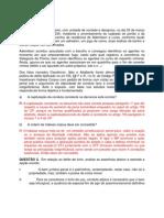 Resolução do Caso Concreto 01 - Penal III