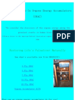 Orgonics Orgone Accumulators and Products