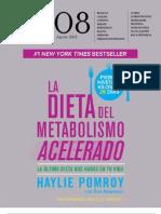 metabolismo acelerado