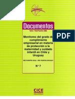 Maternidad y Normatividad - Chile y Uruguay