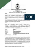 Programa Balance de energía y equilibrio químico