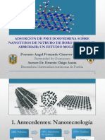Adsorción de fármacos sobre nanotubos