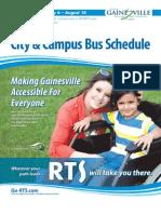 Gainesville Bus Schedule