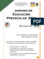 Plan 2011 de Preescolar PDF