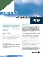 Factsheet Nitrate