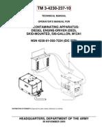 TM 3-4230-237-10 DECONTAMINATING APPARATUS M12A1