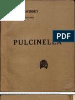 Pulcinella -Pergolesi Strawinsky